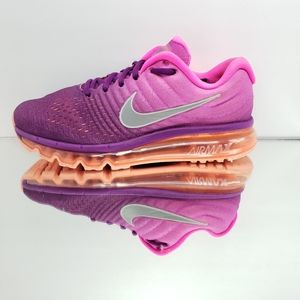 Nike Air Max 2017, size 8.5, color pink/purple/ pe